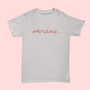 camiseta Verano rosa